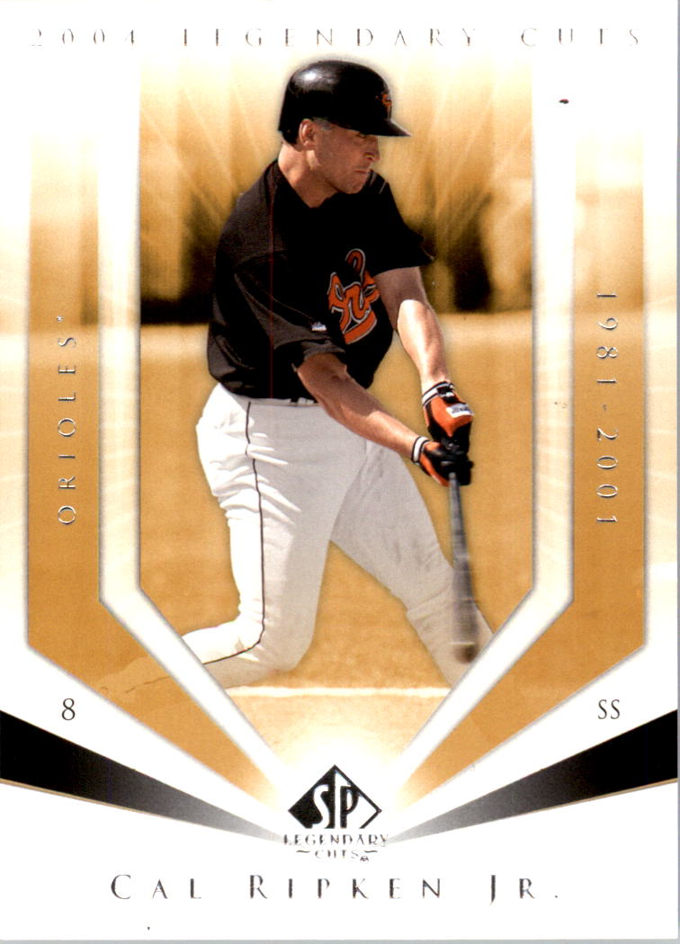 2004 SP Legendary Cuts #15 Cal Ripken