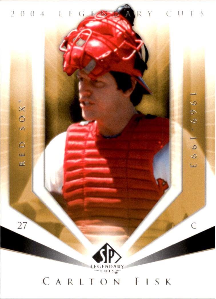 2004 SP Legendary Cuts #17 Carlton Fisk