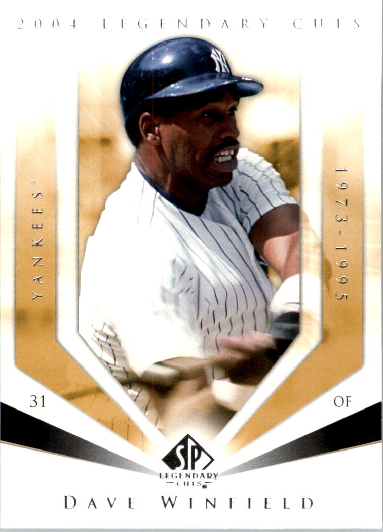 2004 SP Legendary Cuts #22 Dave Winfield