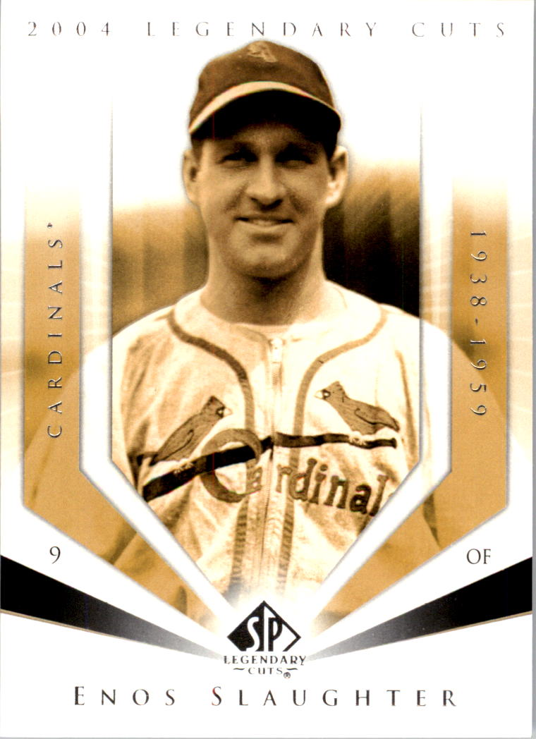 2004 SP Legendary Cuts #36 Enos Slaughter
