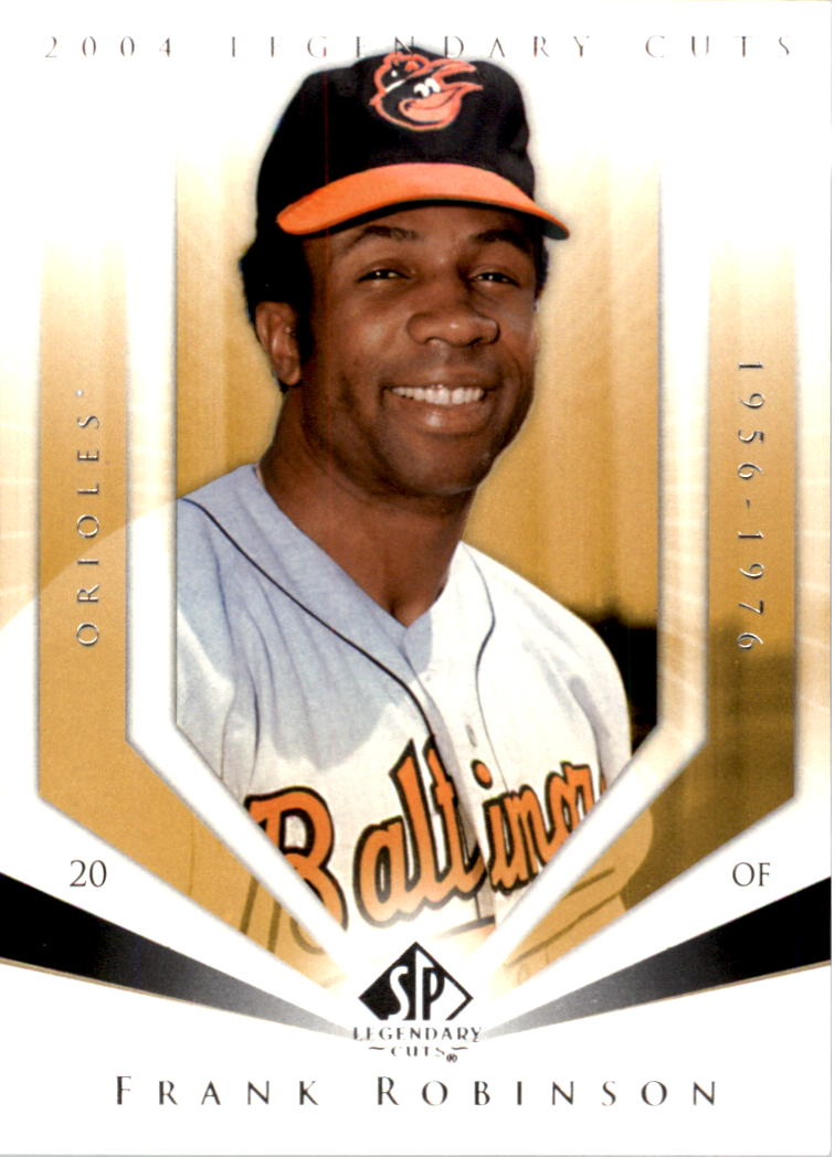 2004 SP Legendary Cuts #39 Frank Robinson