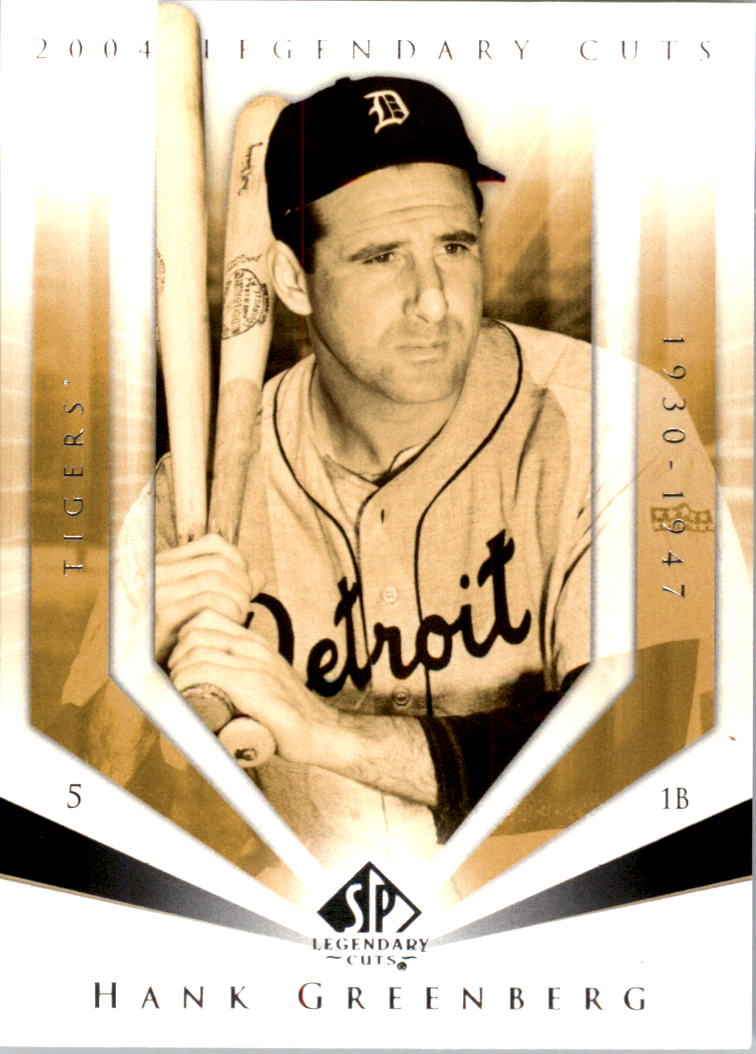 2004 SP Legendary Cuts #48 Hank Greenberg
