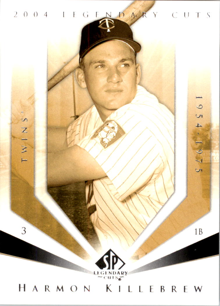 2004 SP Legendary Cuts #49 Harmon Killebrew