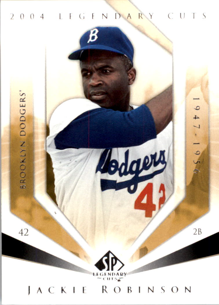 2004 SP Legendary Cuts #52 Jackie Robinson