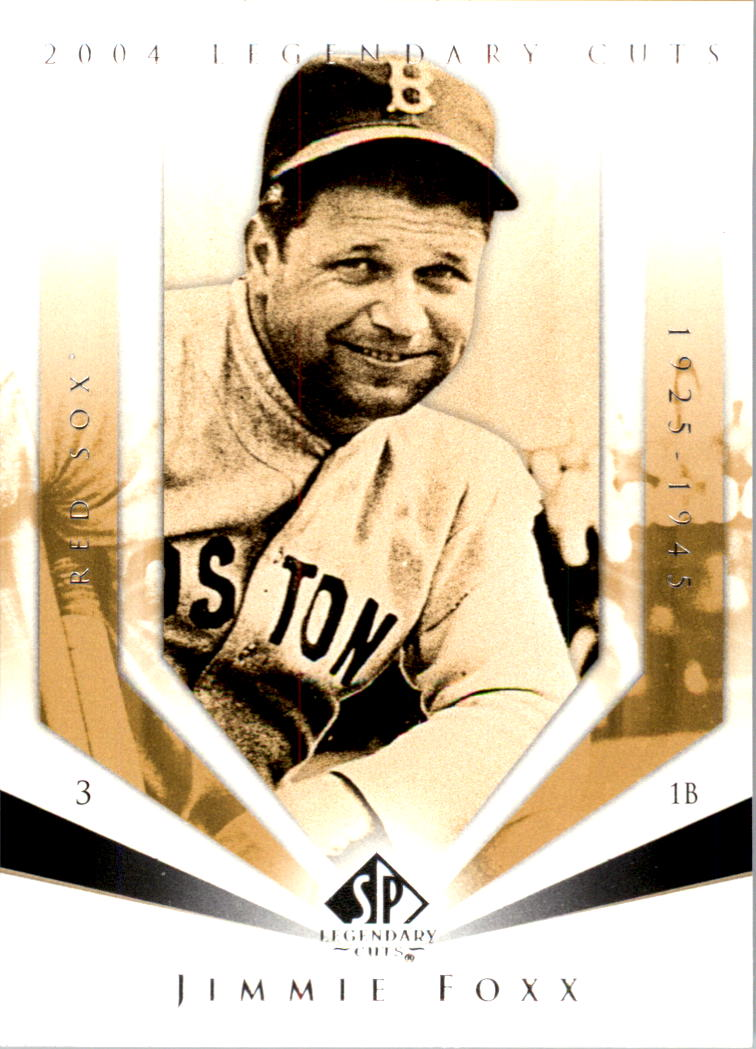 2004 SP Legendary Cuts #55 Jimmie Foxx