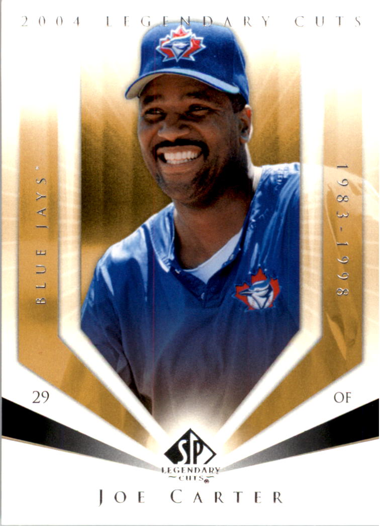 2004 SP Legendary Cuts #56 Joe Carter