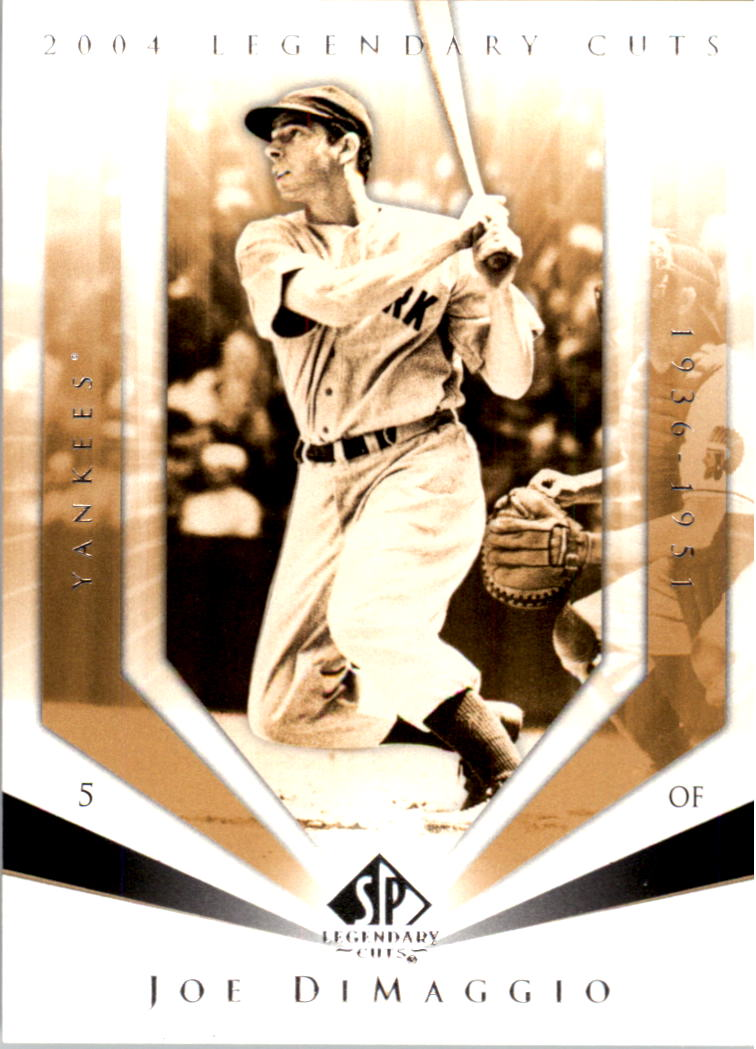 2004 SP Legendary Cuts #57 Joe DiMaggio front image