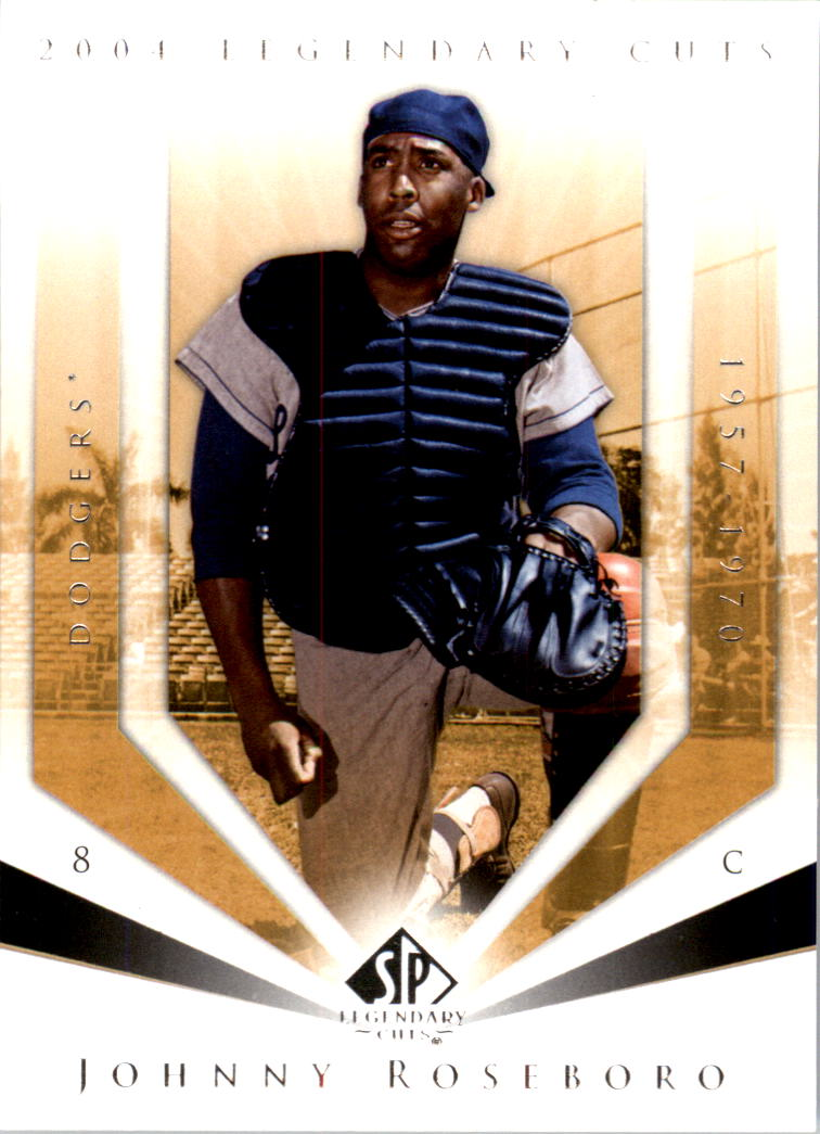 2004 SP Legendary Cuts #62 Johnny Roseboro