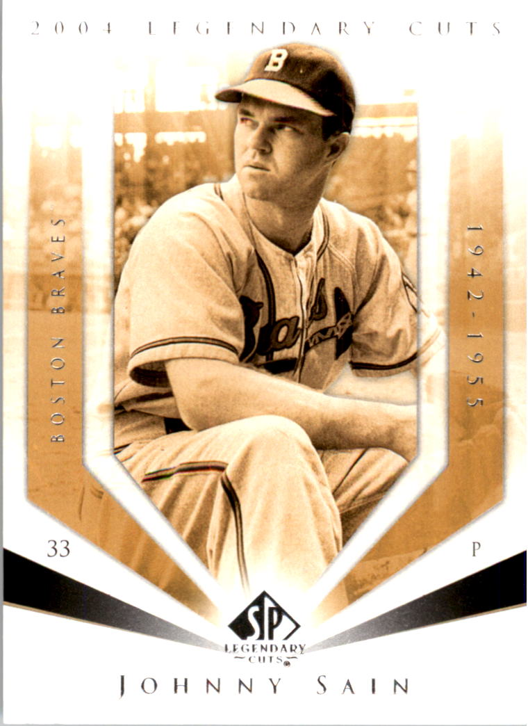 2004 SP Legendary Cuts #63 Johnny Sain