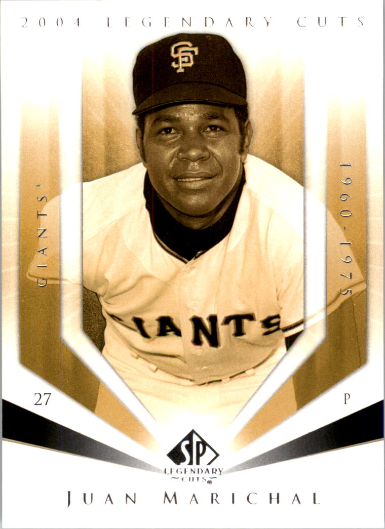 2004 SP Legendary Cuts #64 Juan Marichal