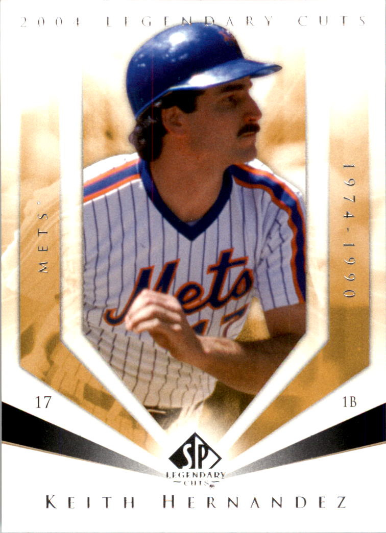 2004 SP Legendary Cuts #65 Keith Hernandez front image