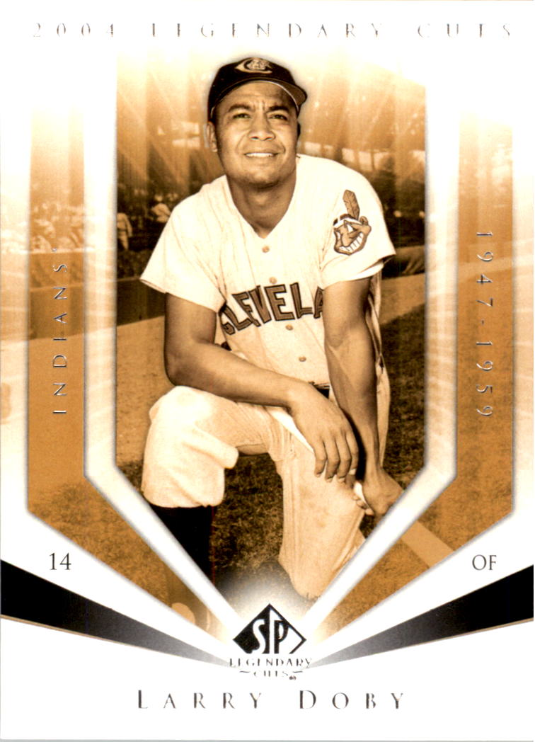 2004 SP Legendary Cuts #70 Larry Doby