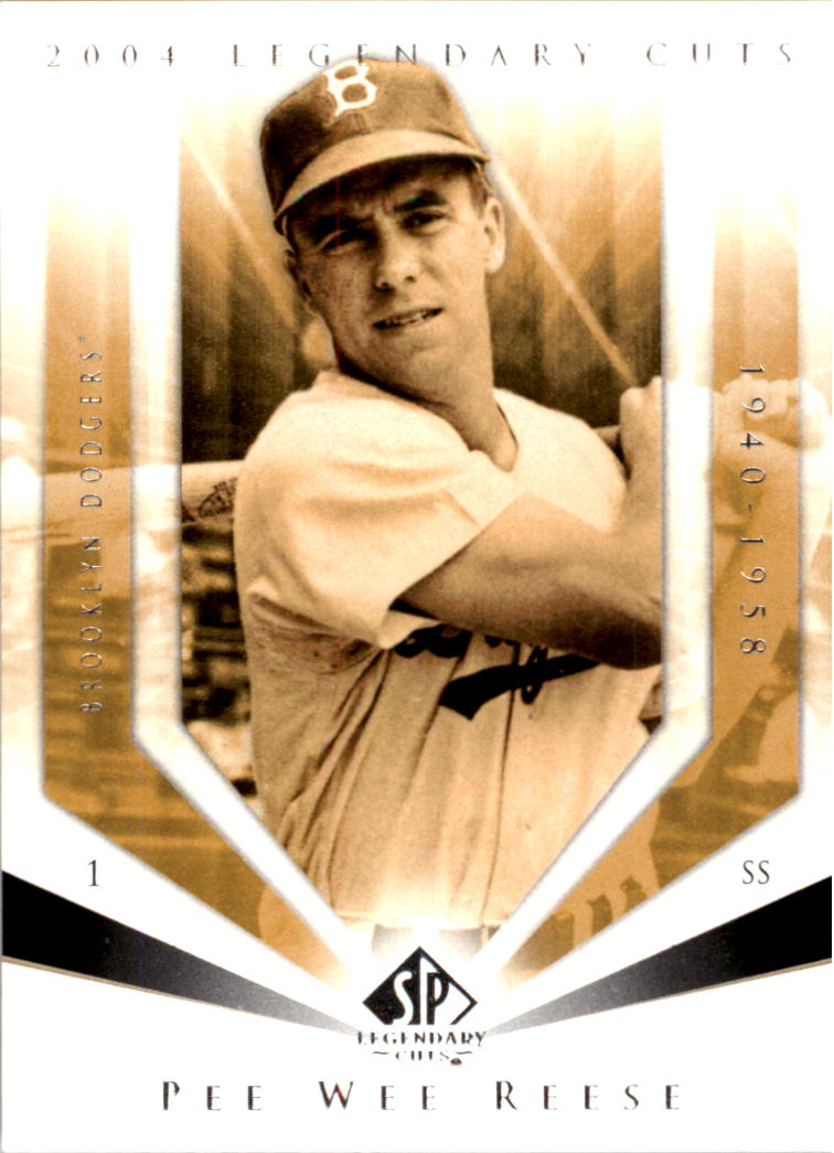 2004 SP Legendary Cuts #88 Pee Wee Reese