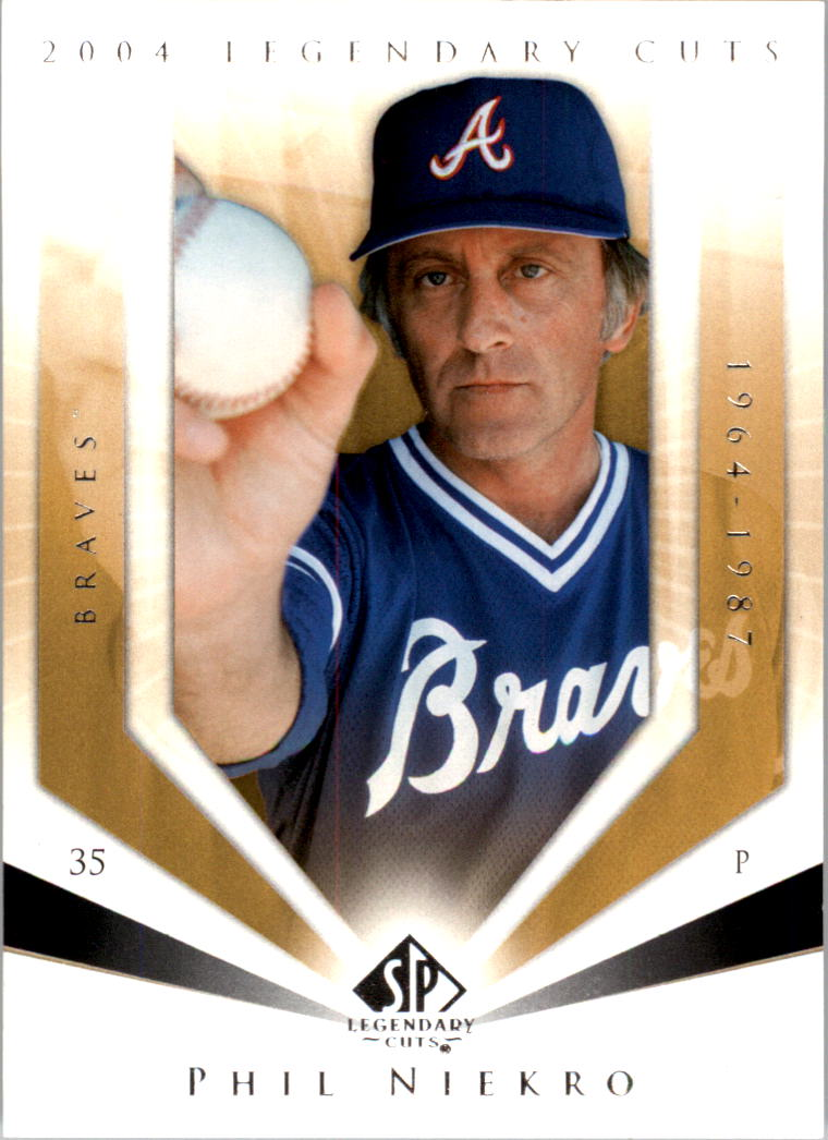 2004 SP Legendary Cuts #89 Phil Niekro