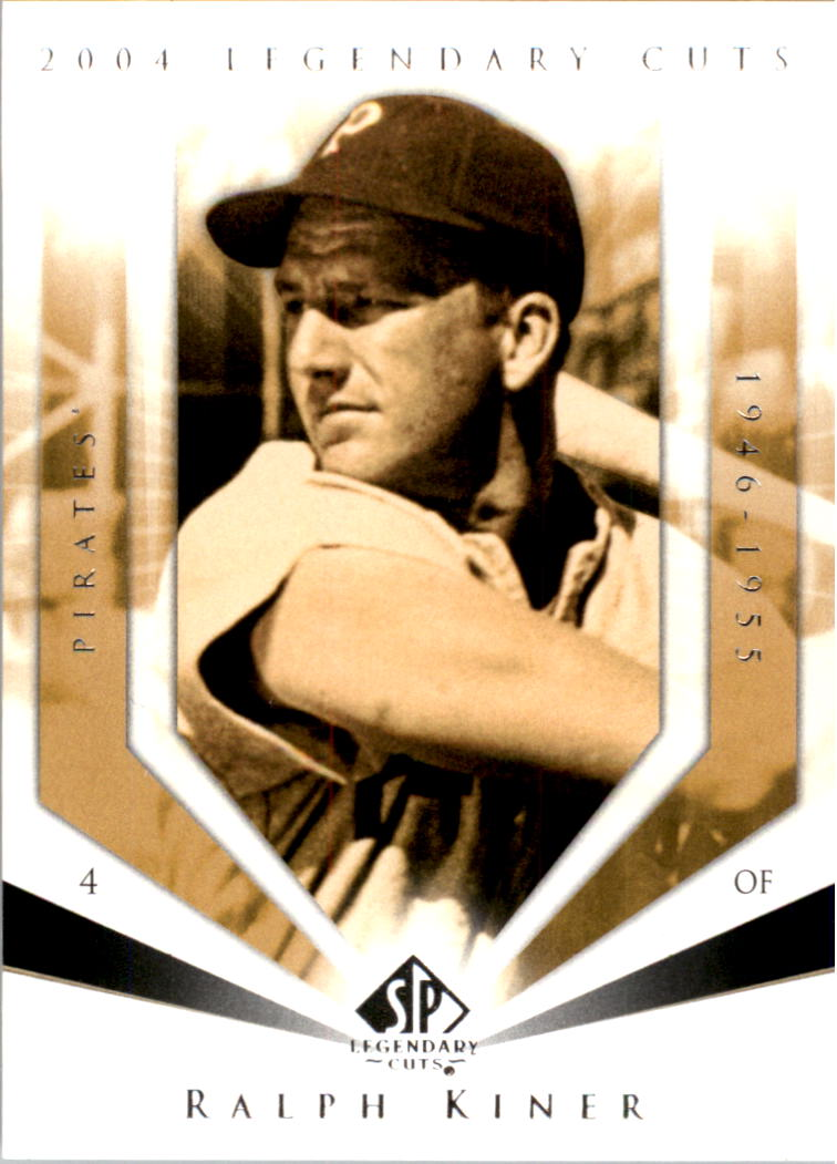 2004 SP Legendary Cuts #91 Ralph Kiner
