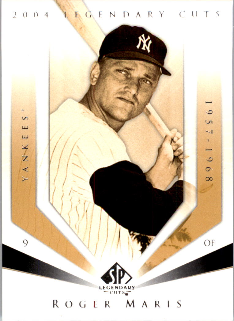 2004 SP Legendary Cuts #102 Roger Maris front image