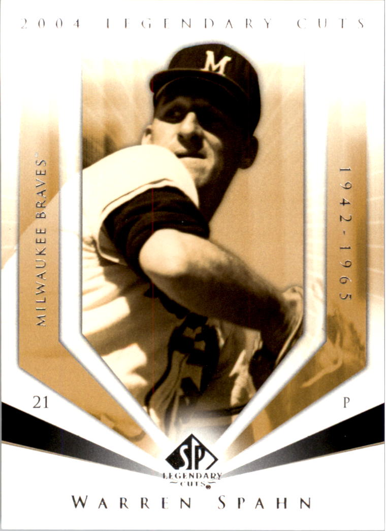 2004 SP Legendary Cuts #121 Warren Spahn