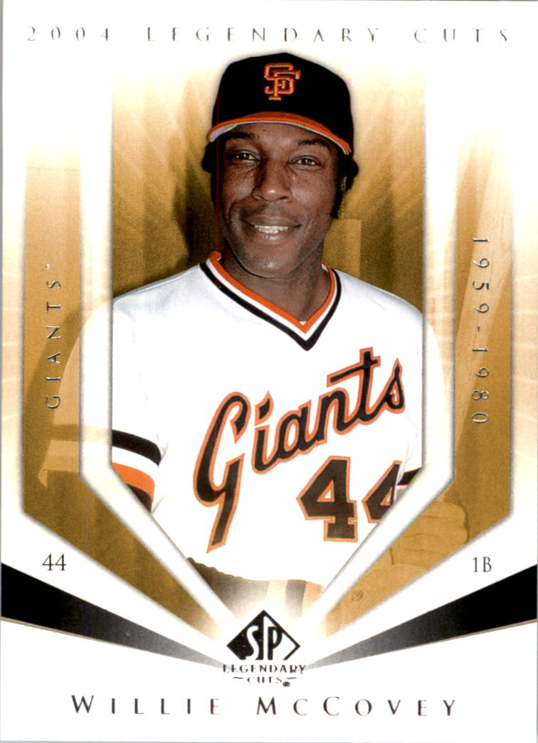2004 SP Legendary Cuts #123 Willie McCovey