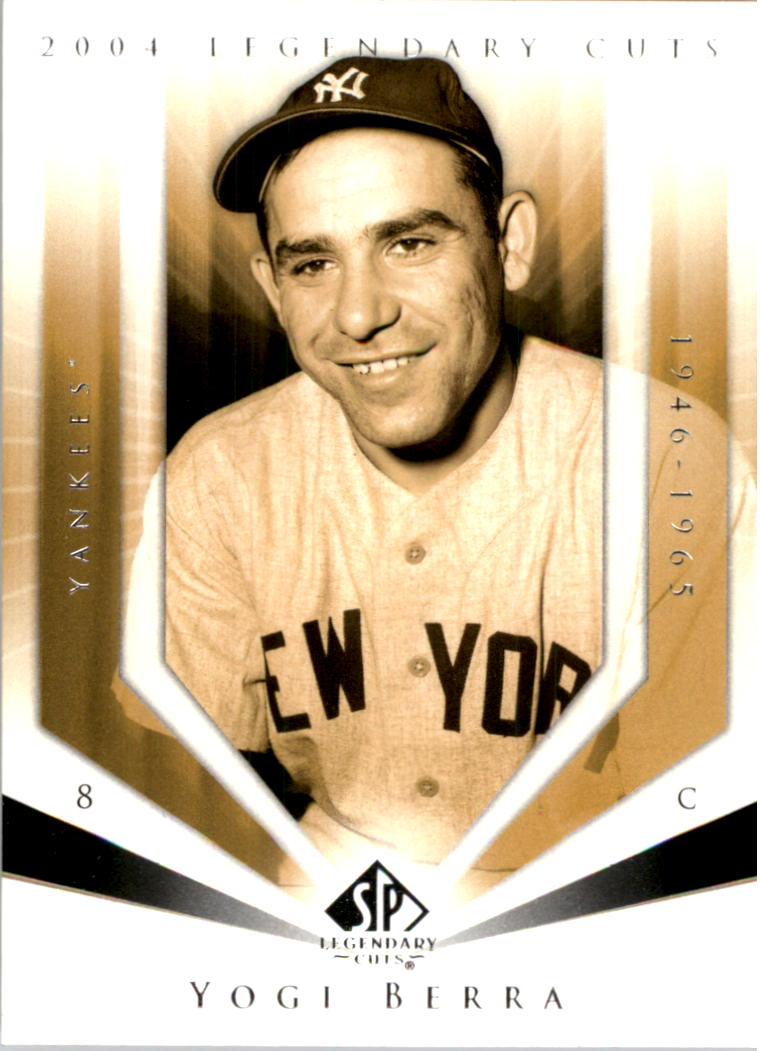 2004 SP Legendary Cuts #126 Yogi Berra