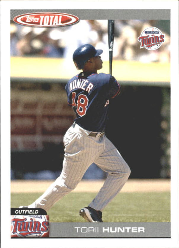 2004 Topps Total Team Checklists #TTC17 Torii Hunter