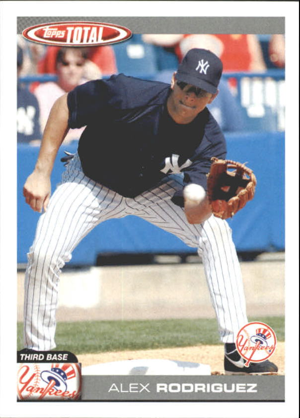 2004 Topps Total Team Checklists #TTC20 Alex Rodriguez