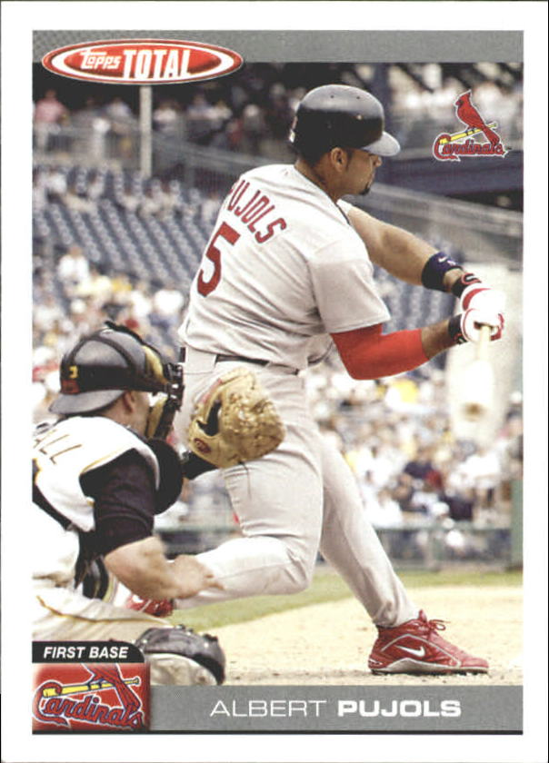 2004 Topps Total Team Checklists #TTC27 Albert Pujols