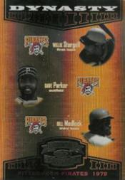 2004 Throwback Threads Dynasty Spectrum #10 Stargell/Parker/Madlock