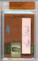 2004 Prime Cuts MLB Icons Signature #53 Roger Maris/1