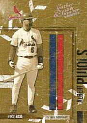 2004 Leather and Lumber Silver B/W #133 Albert Pujols