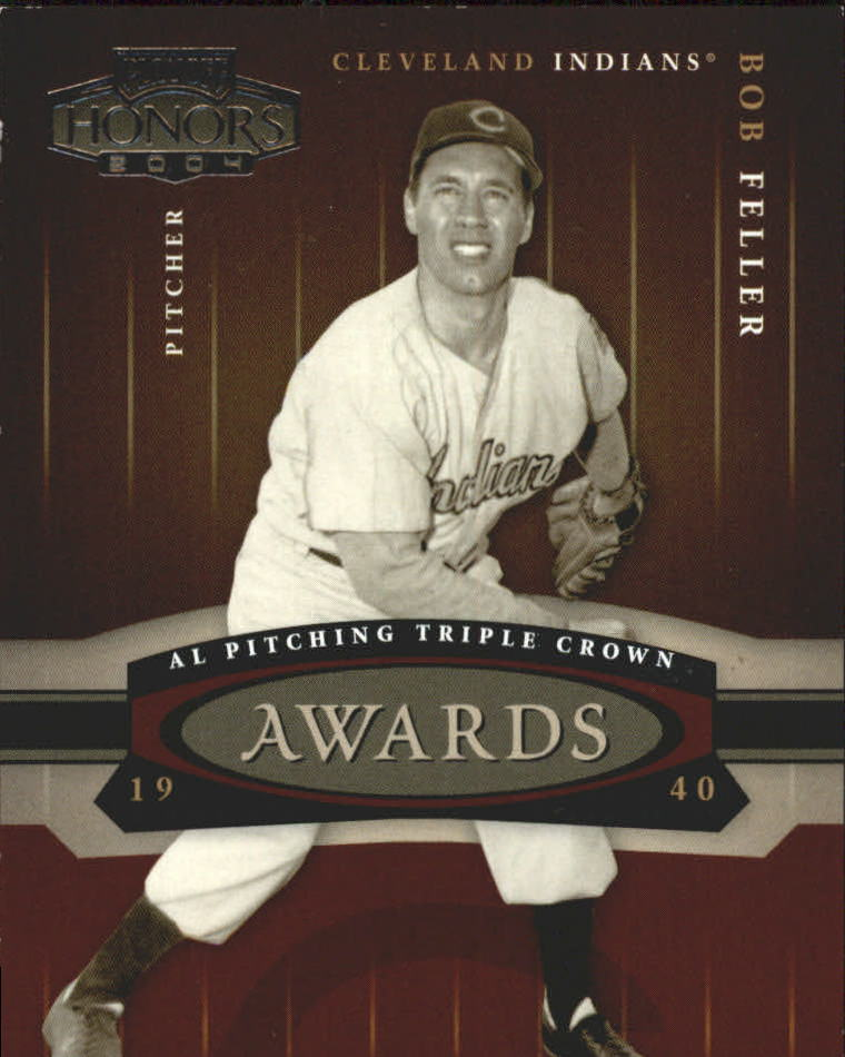2004 Playoff Honors Awards #22 Bob Feller/1940