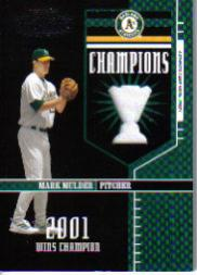 2004 Playoff Honors Champions Jersey #17 Mark Mulder/250