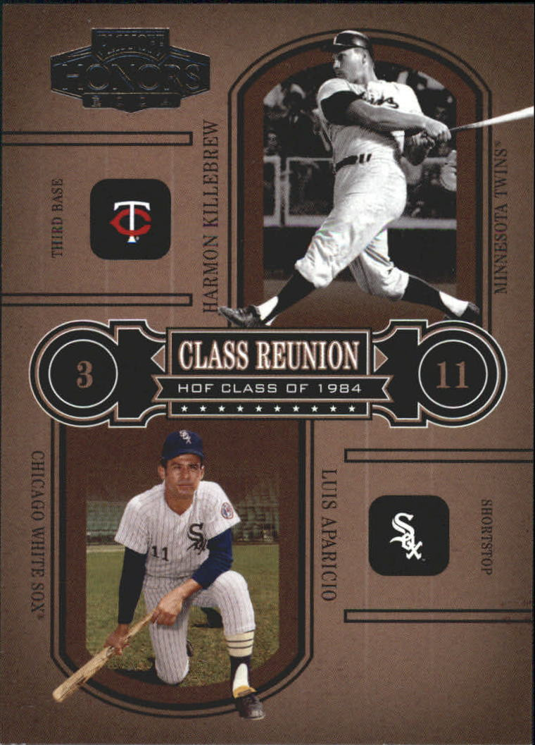 2004 Playoff Honors Class Reunion #7 H.Killebrew/L.Aparicio/1984
