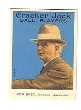 2004 Topps Cracker Jack Mini Blue #23 Charles Comiskey