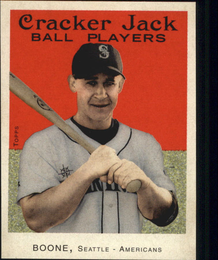2004 Topps Cracker Jack Mini Stickers #15 Bret Boone