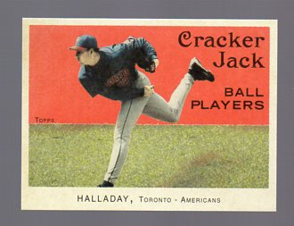 2004 Topps Cracker Jack Mini Stickers #91 Roy Halladay