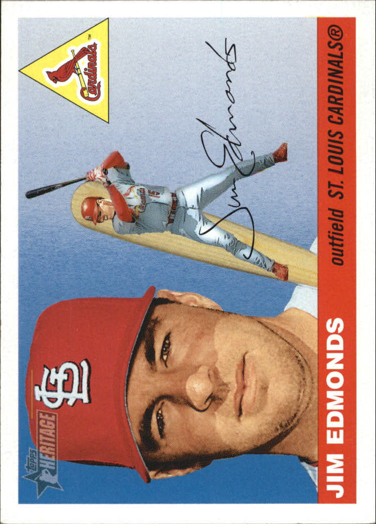 2004 Topps Heritage #51 Jim Edmonds