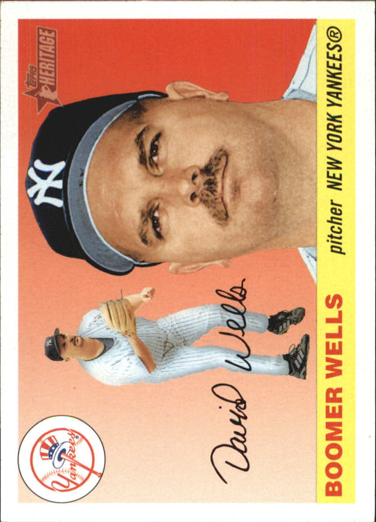 2004 Topps Heritage #96 David Wells