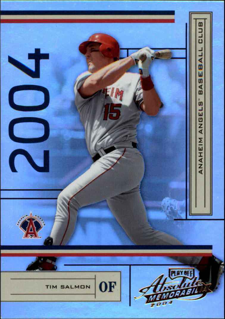 2004 Absolute Memorabilia #3 Tim Salmon
