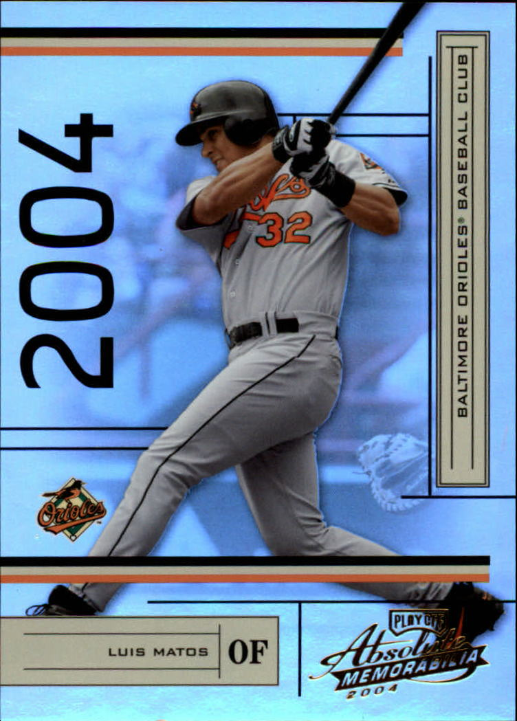 2004 Absolute Memorabilia #32 Luis Matos