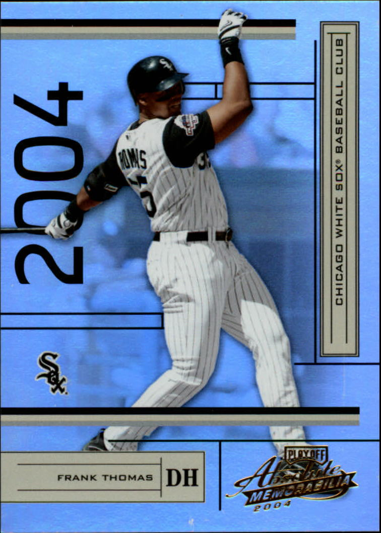 2004 Absolute Memorabilia #51 Frank Thomas