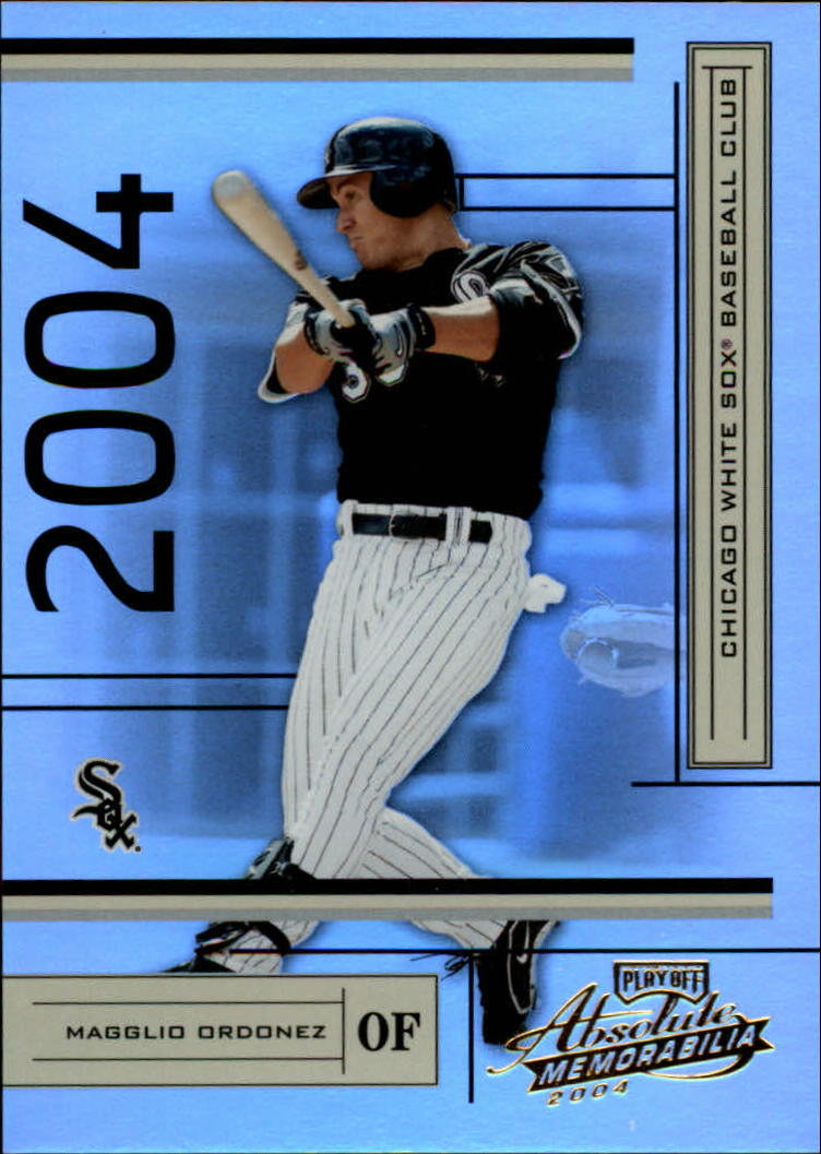 2004 Absolute Memorabilia #52 Magglio Ordonez