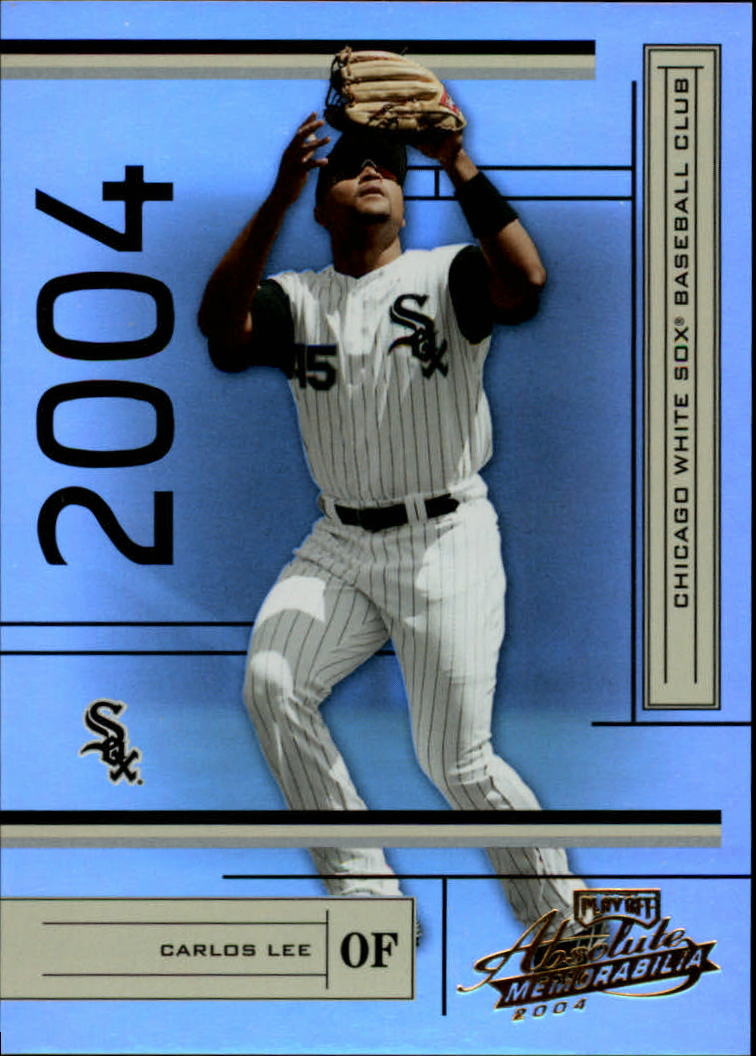 2004 Absolute Memorabilia #53 Carlos Lee