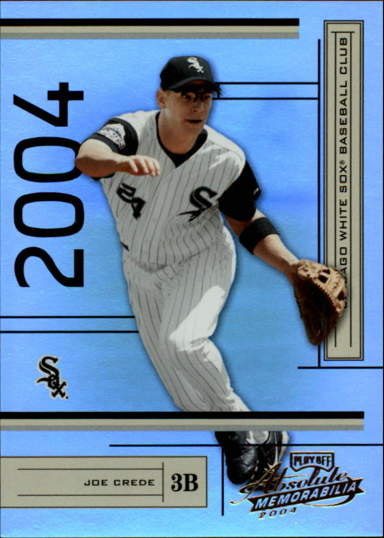 2004 Absolute Memorabilia #54 Joe Crede