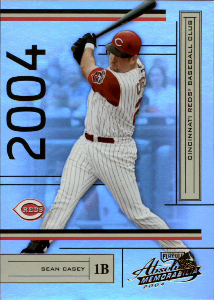 2004 Absolute Memorabilia #57 Sean Casey