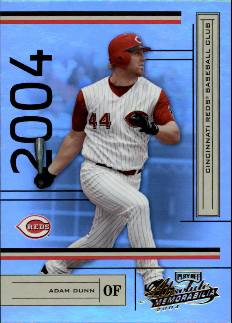 2004 Absolute Memorabilia #58 Adam Dunn
