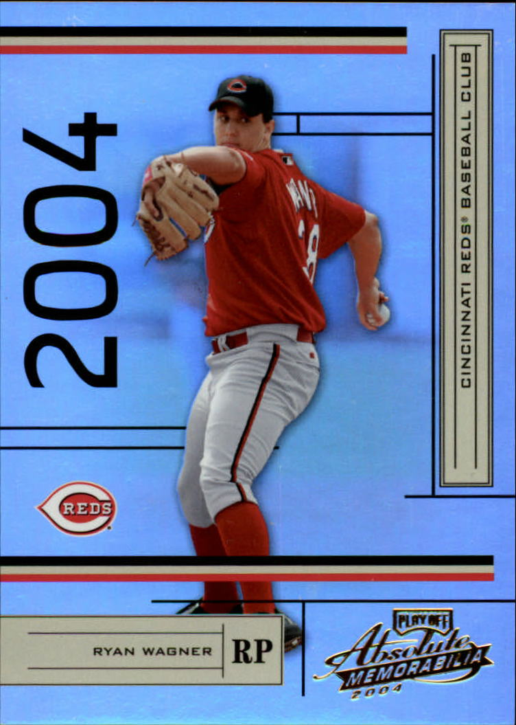 2004 Absolute Memorabilia #62 Ryan Wagner