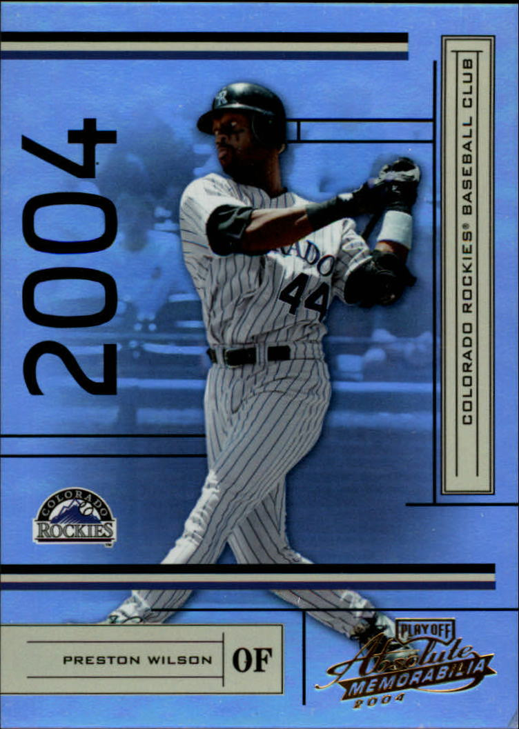 2004 Absolute Memorabilia #68 Preston Wilson