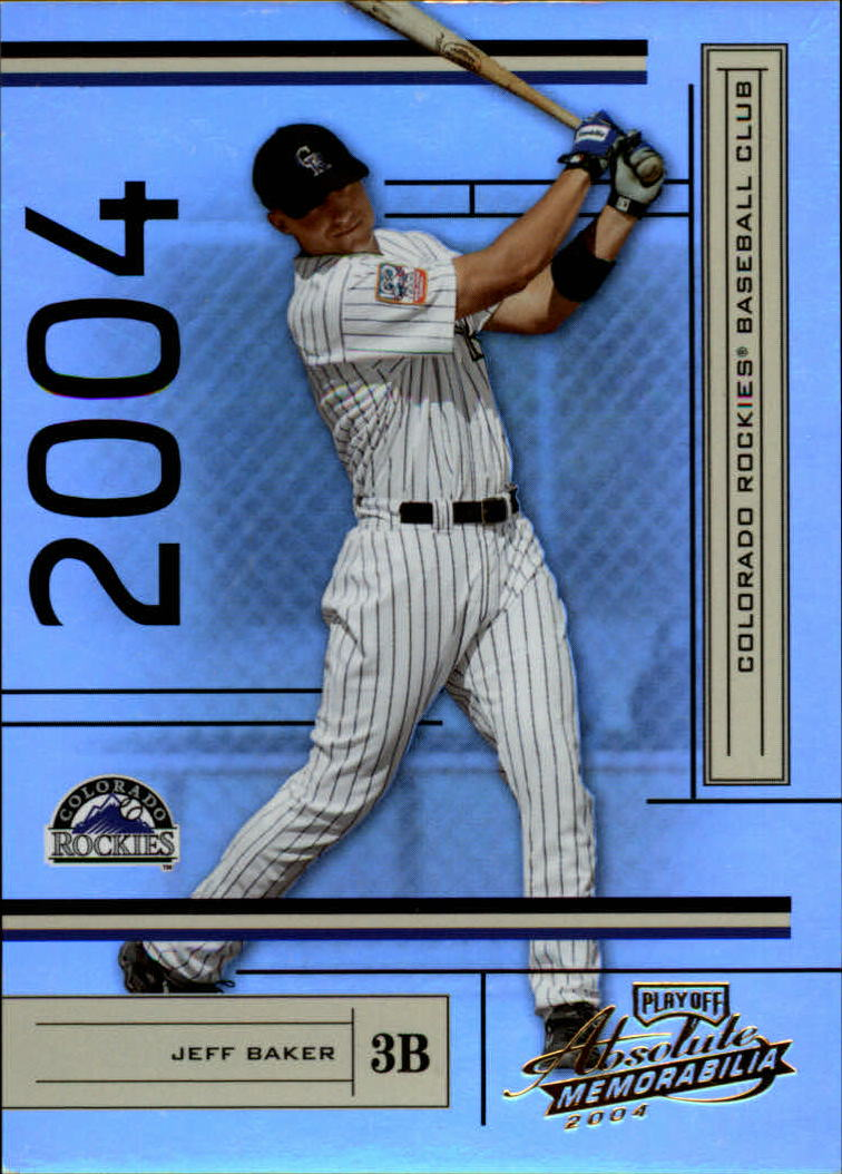 2004 Absolute Memorabilia #69 Jeff Baker