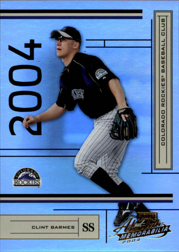 2004 Absolute Memorabilia #70 Clint Barmes