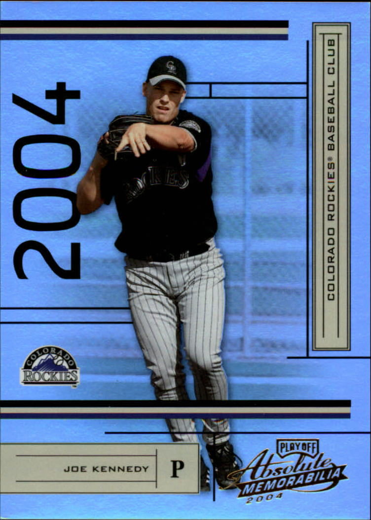 2004 Absolute Memorabilia #71 Joe Kennedy
